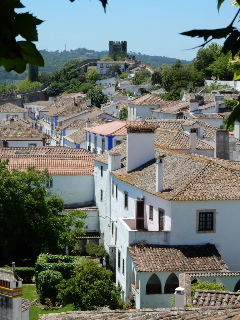 Castle-view-from-óbidos-Portugal